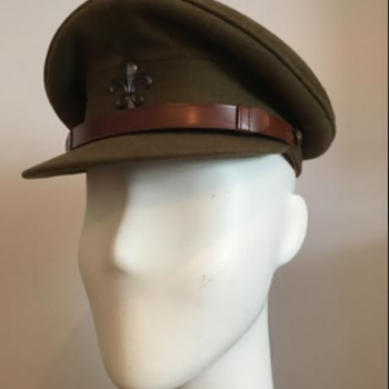 WWII Manchester Regiment Officer's Service Dress Cap  - Military and Wartime