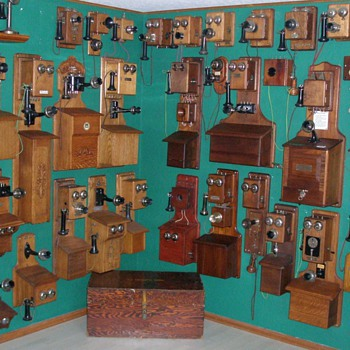 In My Spare Time I Collect Antique Telephones