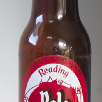 Vintage Reading Beer Bottle…. - Breweriana