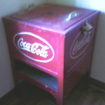 Coca Cola Cooler - Coca-Cola
