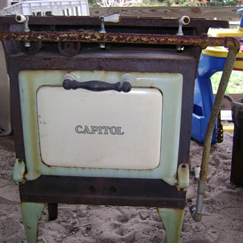 """Caloric"" cast iron cook stove - Kitchen"