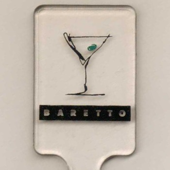 """Baretto"" Fasano Hotel (Brazil) - Cocktail Stirrer - Advertising"