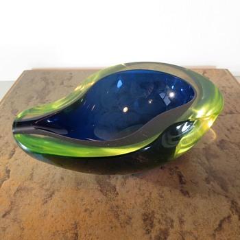 The Avocado - Art Glass