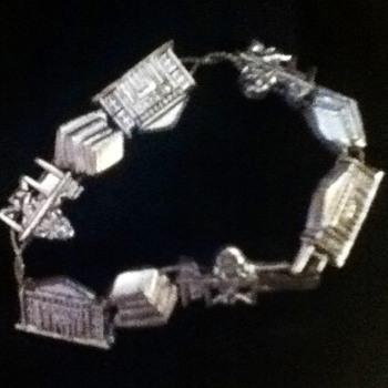 Vintage Charm Bracelet - Costume Jewelry
