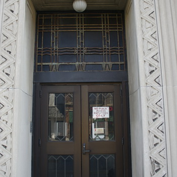 Verizon Building, Wilkes-Barre, PA…Art Deco Detail - Art Deco