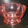 Pink Depression Glass Small Bowl
