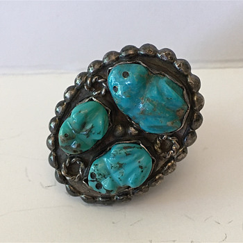 """Zuni Frog"" ring - Fine Jewelry"