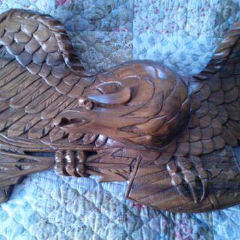 Wood American Eagle