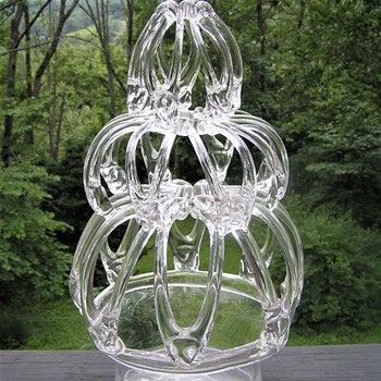Large Bride's Bank - Art Glass