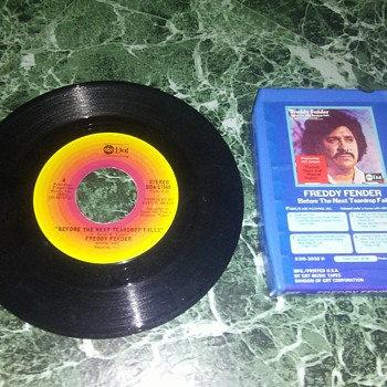 Mr. Baldamar Garza Huerta..On 8 Track Tape And 45 RPM Vinyl - Records