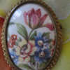Vintage Pin by Jo Bary, Limoges, France