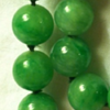 Jadeite necklace and pins