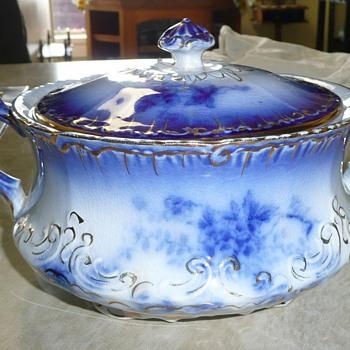 Flow Blue Casserole - Kitchen