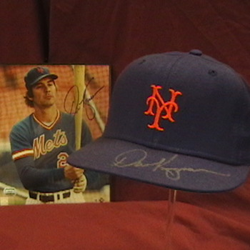 Dave Kingman 1982 Game Used Autographed NY Mets Cap