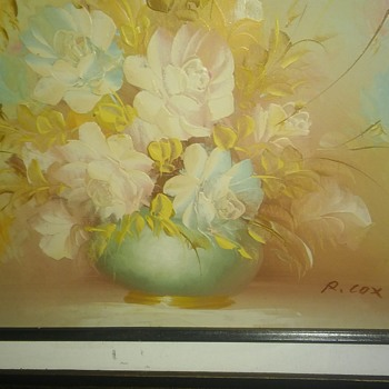 R. Cox painting