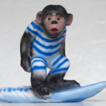 Surf Monkey, aka Chango, aka Tijuana Surf Icon - Sporting Goods