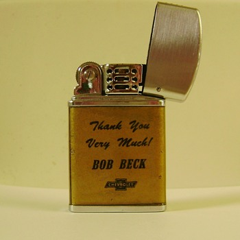 Vintage Cigarette Lighter - Advertising