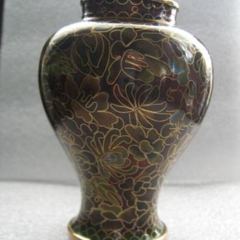 Antique Chinese Cloisonne Vas - Asian