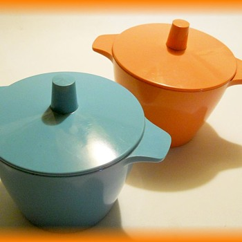 Vintage MELMAC containers ( Melamine )