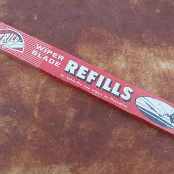 1962 Trico Wiper Blades (box only) - Advertising