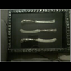 shadow box with knives