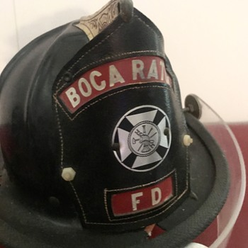 Boca Raton Firefighter Helmet - Firefighting