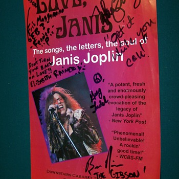 Love Janis Joplin tribute poster
