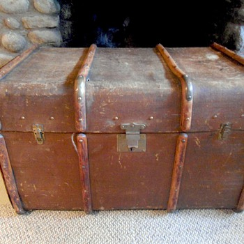 Antique European Trunk - Furniture