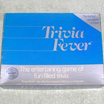 "1984 - ""Trivia Fever"" Board Game - Games"