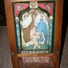 Catholic 'J,M & J' shadowbox icon~from a church?