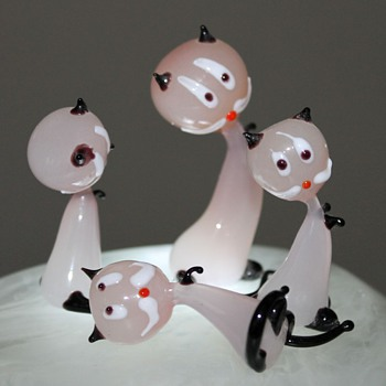 Japanese Glass Animals - Art Glass