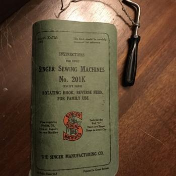 Vintage Singer help - Sewing