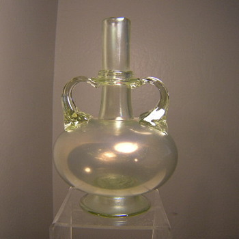 Old Italian glass vase. - Art Glass