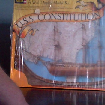 Wall Display Kit Unopened USS CONSITITUTION  - Toys