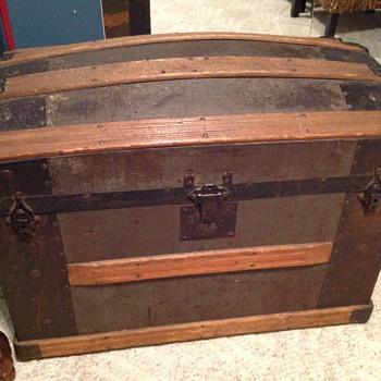 Zinc Saratoga Trunk - Furniture