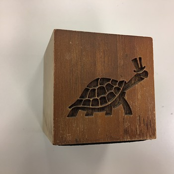 Vintage Turtle Wax Pen Holder - Advertising