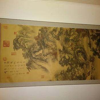 Found this Scroll Painting at a yard sale  - Asian