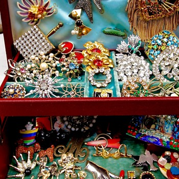 small collections of mine... - Costume Jewelry