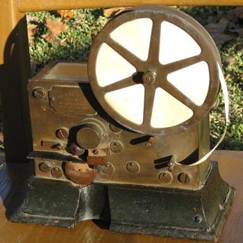Circa 1900 Gamewell Fire Alarm Telegraph - Firefighting