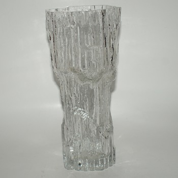 Tapio Wirkkala for Iittala Icicle Vase - Art Glass