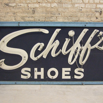 Schiff's Shoes neon signs - Signs