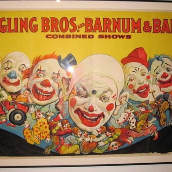 Ringling Brothers Barnum and Bailey Posters at Shelburne Museum - Posters and Prints