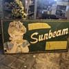 Sunbeam Bread old sign