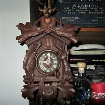 Scheckenbecher Cuckoo Clock - Clocks