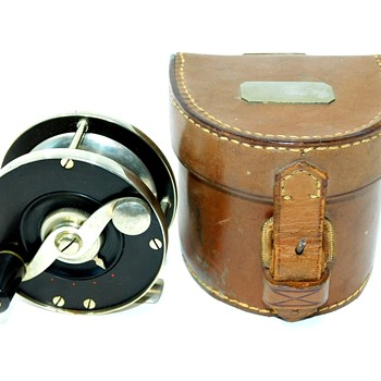 Here's my favorite antique fly fishing reel. It's a Edward vom Hofe Size 3 Perfection with adjustable drag. - Fishing