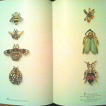 """Gems of Costume Jewelry""  Part Two / Insects-Spiders-Leaves and Bling! - Books"