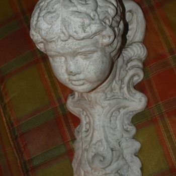 Large Plaster Candle Holder - Lamp? - Lamps