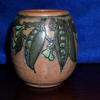 Glazed terracotta vase Marked Brod Mis? 1997 - Pottery