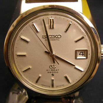 1968 Grand Seiko Date 6145-8000 Automatic