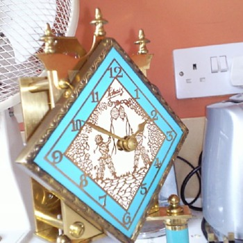 Schatz Anniversary Clock - turquoise colour - Clocks